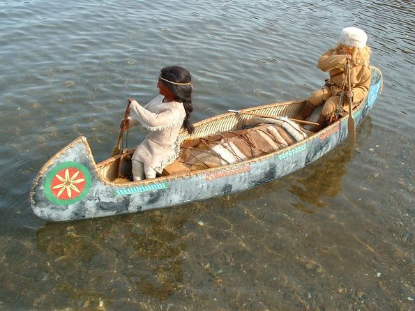I Hope From This That You Will Be Able To See How Made Paddling Indian Canoe